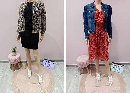 Vente de vestes et manteaux pour femme à Douai